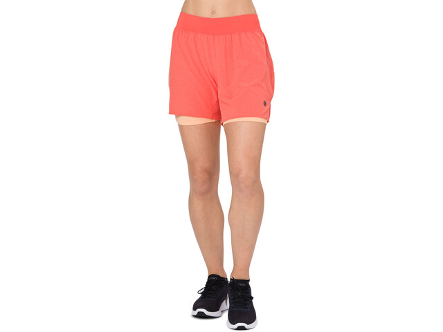 asics 2-N-1 5.5In Shorts Women Coralicious Heather